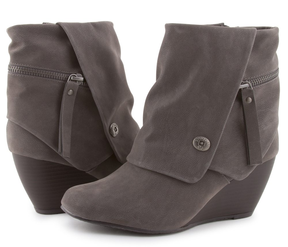 90067d7032f9 Babbi - Chic Booties With Fold-Over Cuff