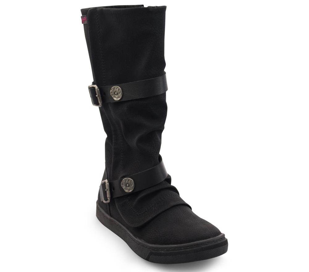 Peeps-K - Calf High Girls Boots  438fde747b