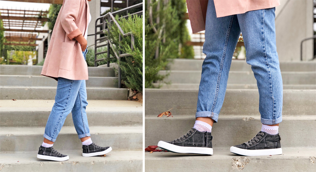 How We Are Styling Shoes With Socks This Fall Blowfish Malibu