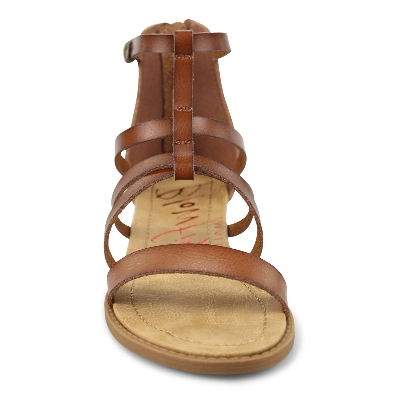 feea83cfadee7 Biden - Strappy Womens Sandal With Zippered Heel