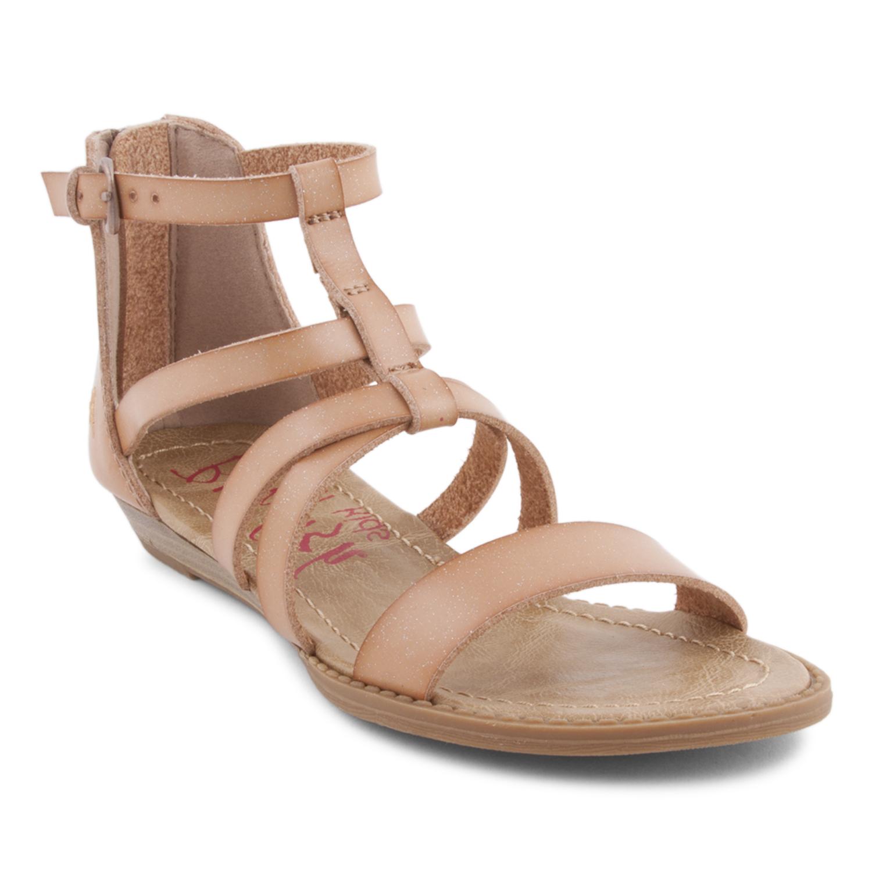 d7cc240ba2d97 Biden-K - Micro Heel Sandals With Ankle Straps