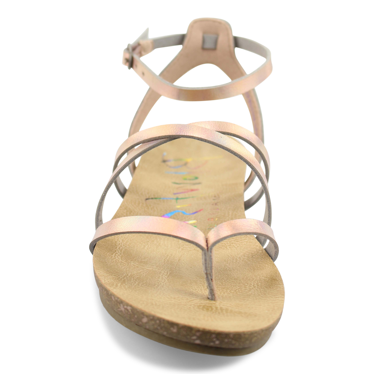 077da7ff3a0 Galaway - Strappy Womens Sandal With Cork Footbed