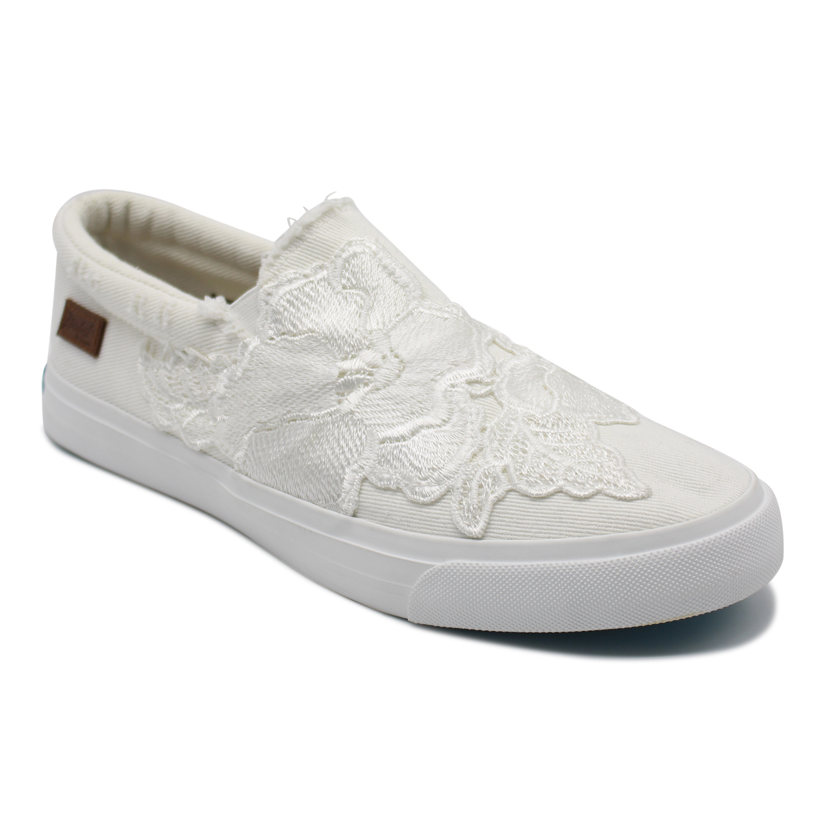 Slip-On Womens Sneakers With Lace Upper