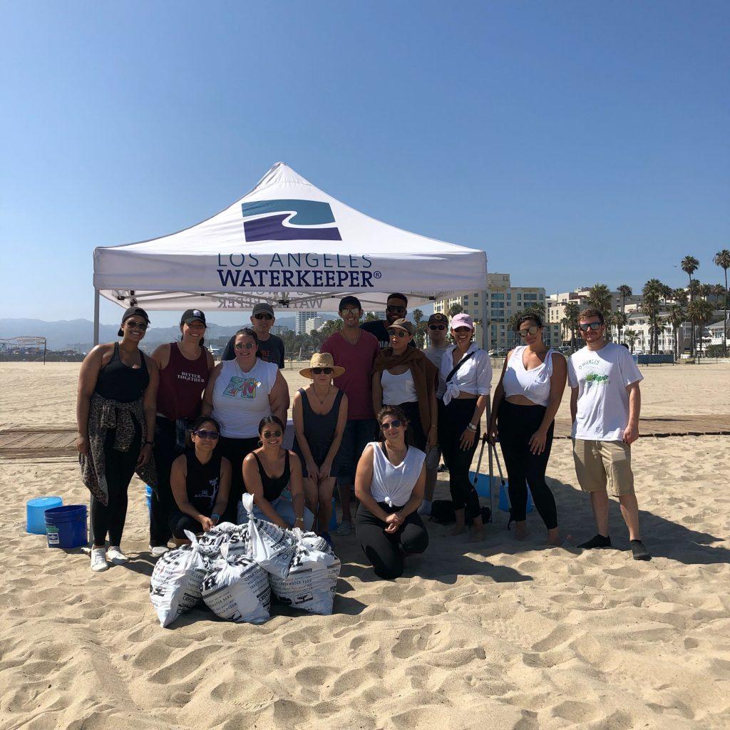 Blowfish Malibu Beach Cleanup